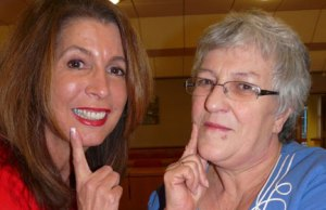 Cllr Sue Arnold and Cllr Sue Woodward