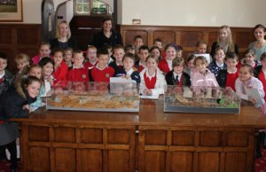 The Willows Primary School children at Lichfield District Council