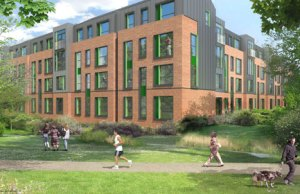 An artist's impression of the new Friary Outer apartments
