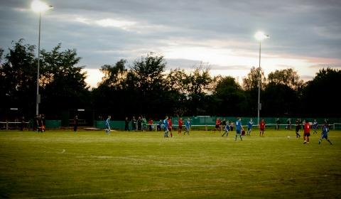 Lichfield City FC's Brownsfield Park home