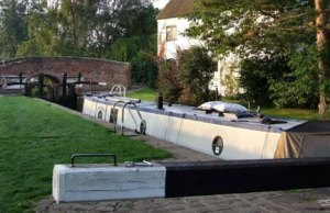 Woodend Lock. Pic: Grey Nomad