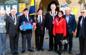 The launch of the Poppy Appeal in Lichfield