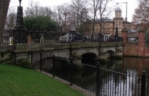 Minster Pool bridge. Pic: Elliot Brown