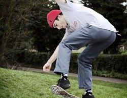 A pro skater tries out Lichfield's new skatepark