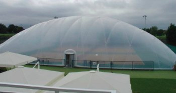 A dome like the one Virgin Active want to install in Lichfield