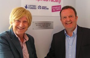 Michael Fabricant with Tim Aston