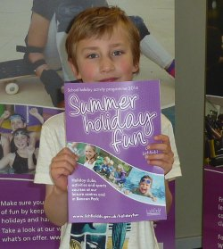 Henry Epstein with the new summer holiday fun programme