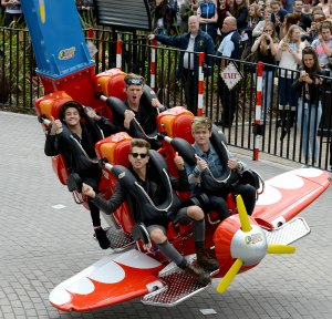 The Vamps on Air Race at Drayton Manor Theme Park