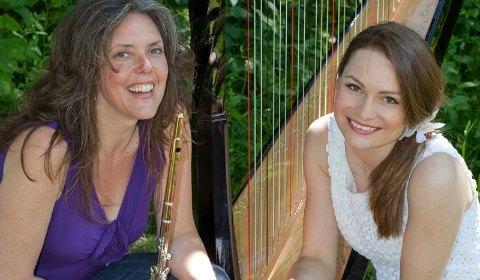 Soloists Lisa Nelsen and Eleanor Turner