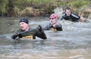 Competitors taking on the Xtreme Challenge