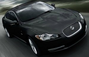 A Jaguar XF similar to the model currently used by Lichfield District Council's chairman