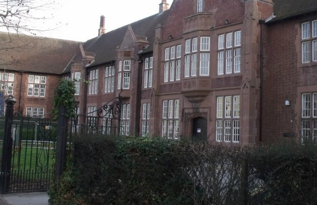 The Friary building which currently houses Lichfield Library. Pic: Elliott Brown
