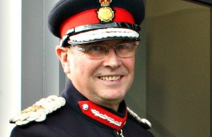 Her Majesty's Lord-Lieutenant of Staffordshire, Ian Dudson