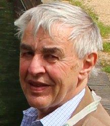 Brian Kingshott, former chairman of Lichfield and Hatherton Canals Restoration Trust