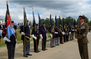 The Royal Artillery service of remembrance