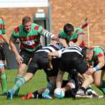 Burntwood defend strongly. Pic: Joanne Gough