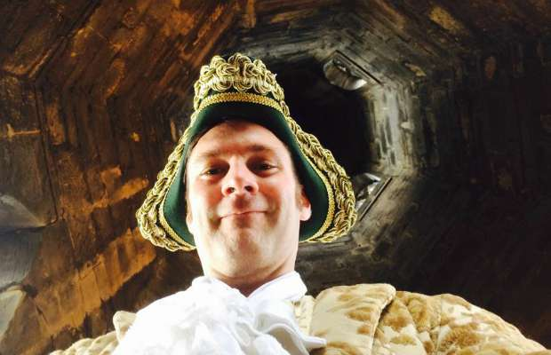 Alan Rowe as Hector Beane – St Mary's Spire Climb