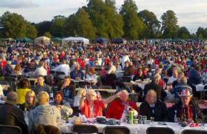 Thousands in Beacon Park for the Lichfield Proms in the Park