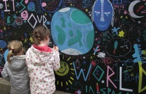 Young artists at a previous event for The Big Draw in Lichfield