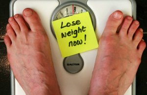 Weighing scales. Pic: Alan Cleaver