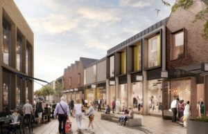 An artist's impression of the Friarsgate development