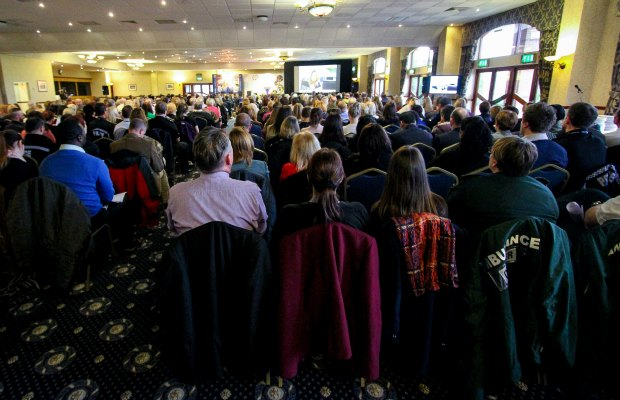 The modern slavery conference being held in Staffordshire