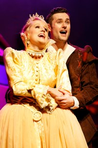 Jo Anne Stevens as Princess Jill and Dominic Griffin as Jack
