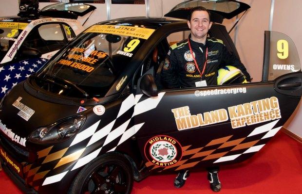 Greg Owens unveils his 2016 car. Pic: MW Motorsport Media