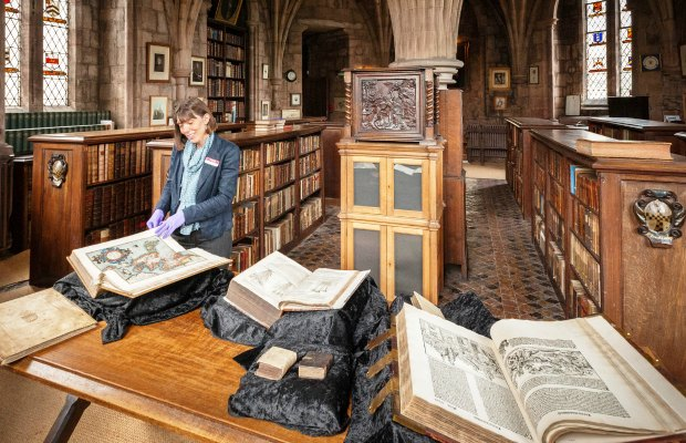 The library at Lichfield Cathedral. Pic: Lichfield Cathedral Photographers