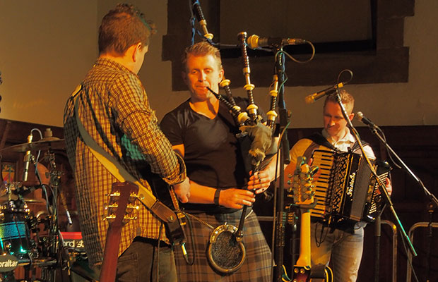 Skerryvore at the Lichfield Guildhall. Pic: David Jones