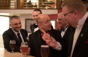 Guests at the Lichfield Round Table black tie event