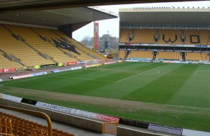 Wolves' Molineux ground where the final of the JW Hunt Cup will take place
