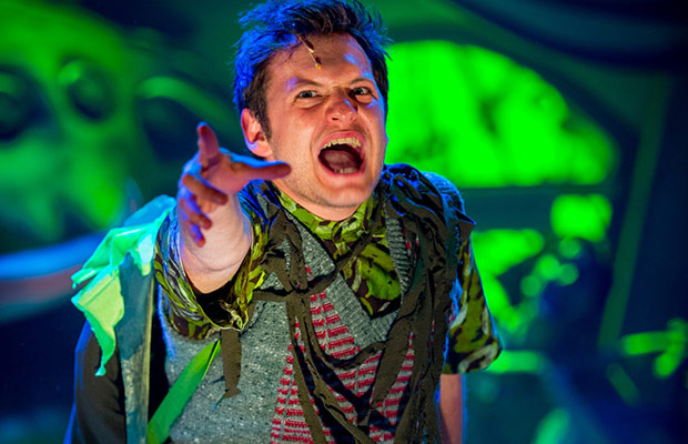 Sam Lupton as Seymour in Little Shop of Horrors