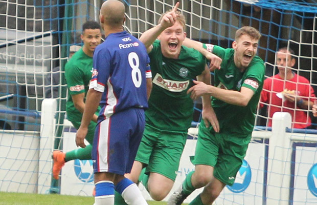 Celebrations for Bedworth. Pic: Dave Birt