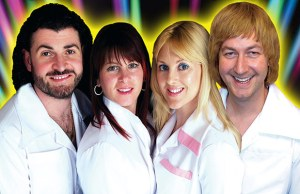 ABBA tribute act Arrival