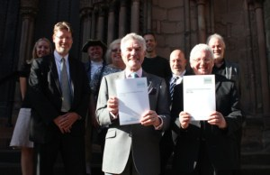 The launch of the Lichfield City Centre Development Strategy