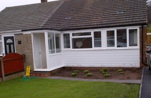 The Chase Road bungalow after the refurbishment work