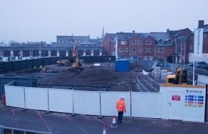 The site of the Lichfield One development