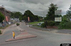 Staffordshire University's Lichfield campus. Pic: Google Streetview