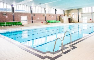 The swimming pool at Friary Grange Leisure Centre