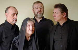 The cast of Boothby's Gift - Nigel Lowe, Adrienne Swallow, Ian Parkes and Ian Henderson