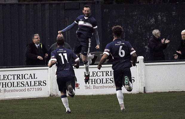 Jack Langston celebrates