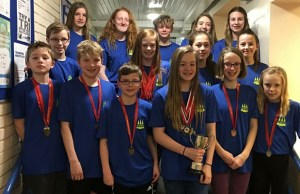 Members of Lichfield Swimming Club