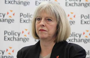 Theresa May. Pic: Policy Exchange