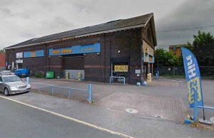 The former HSS Hire building Mr Tyre Ltd hopes to convert into a garage. Pic: Google Streetview
