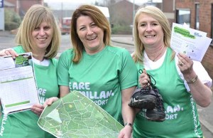 Liz Fernihough, Emma MacDonald and Karen Meades