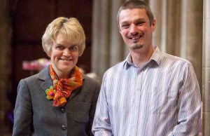 Helen Titterton and James Henderson, from Transforming Communities Together