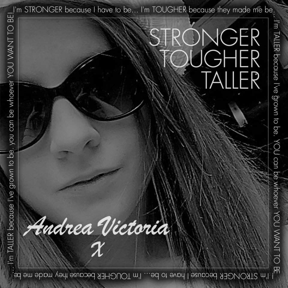 The cover of Andrea's new single