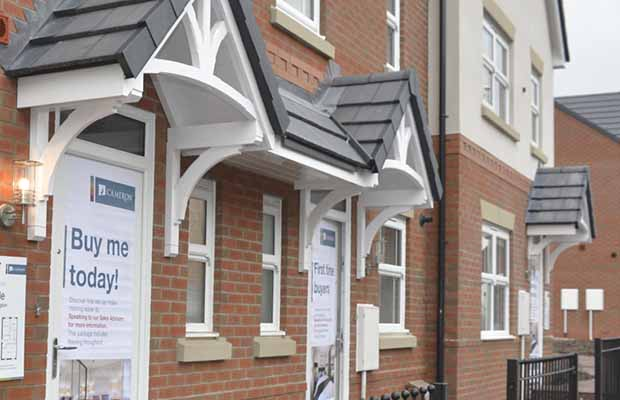 The new Chapel Court development in Burntwood