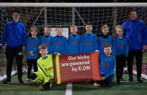 Burntwood Dragons in their new kit